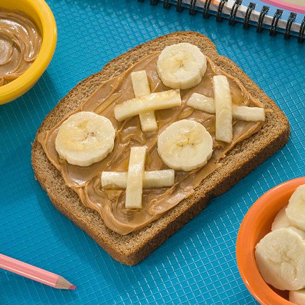 Sandwich sucré rapide au beurre de cacahuètes – Recipes