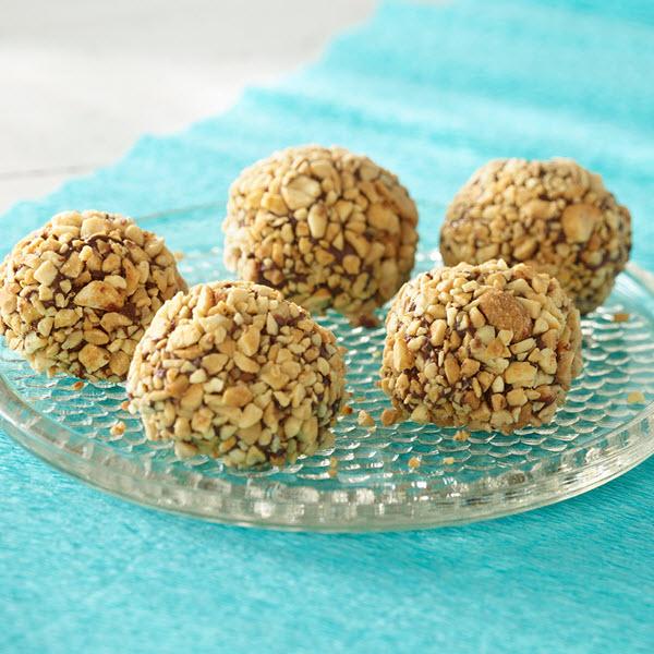Balls gourmandes au beurre de cacahuètes – Recipe